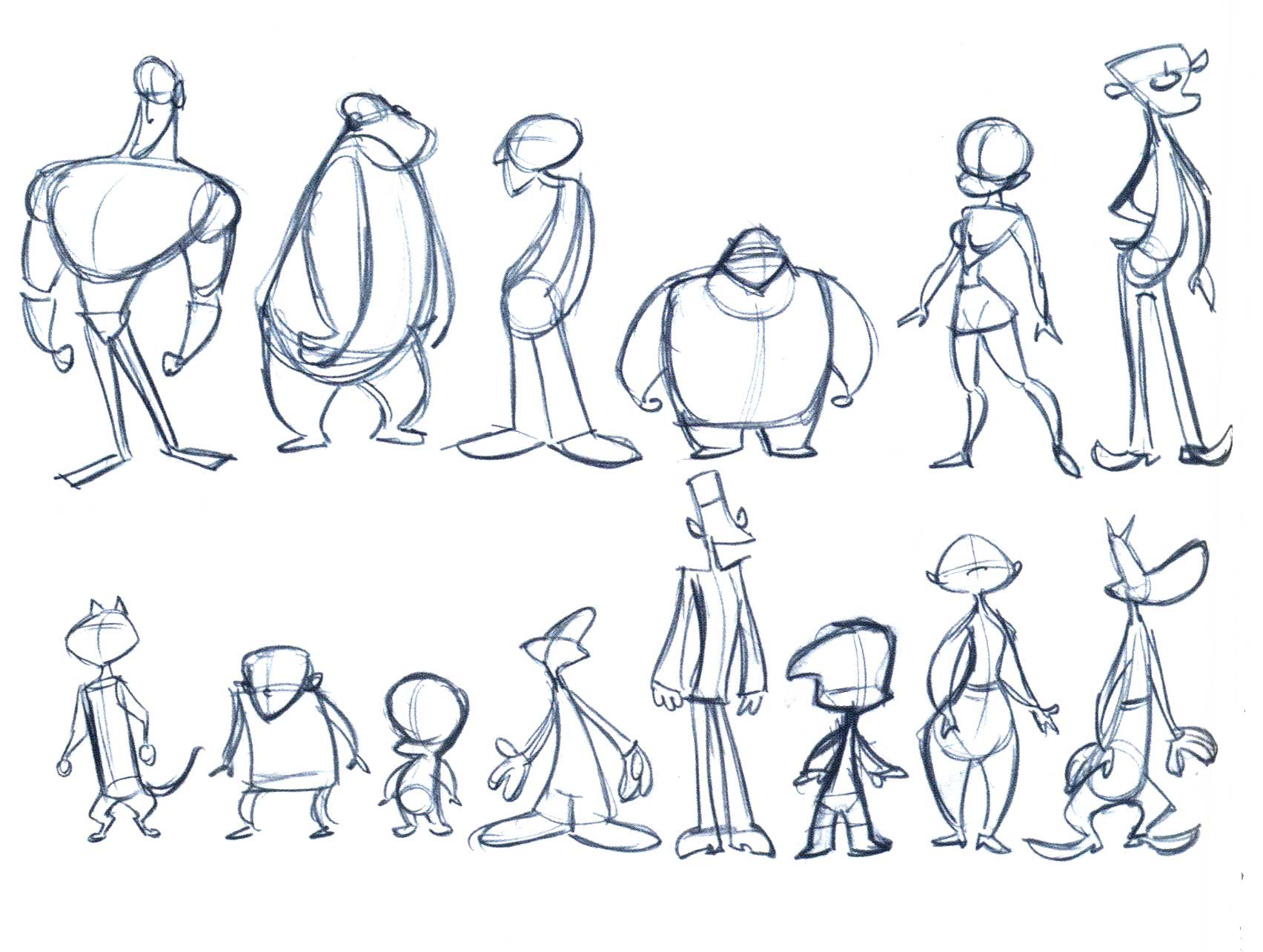 Cartoon Character Design Templates : Ink character profiling our tips on how to create