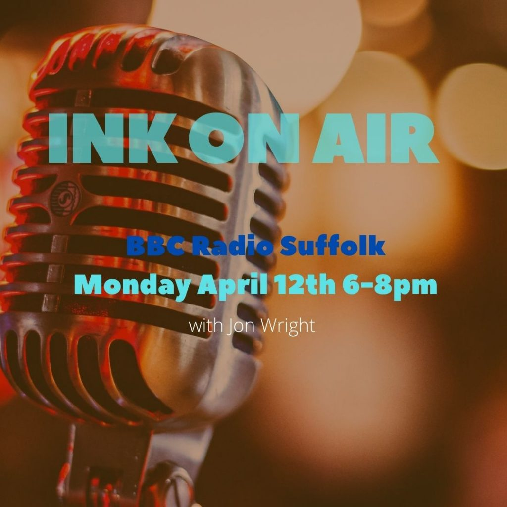 INK ON AIR April 12th